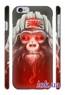 Прикольный чехол Qcase с печатью на iPhone 6 Plus, Киев -  Monkey