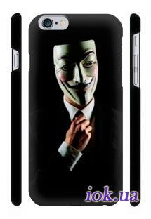 Купить чехол Qcase с печатью на iPhone 6 Plus, Киев - Guy fox