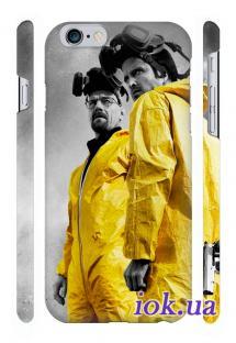 Качественный чехол Qcase с печатью на iPhone 6 Plus в Киеве - Breaking Bad