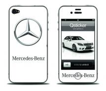 Наклейка на iPhone 4 - Mercedes-Benz