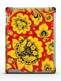 Накладка на iPad 2/3/4 - Qcase Hohloma Yellow