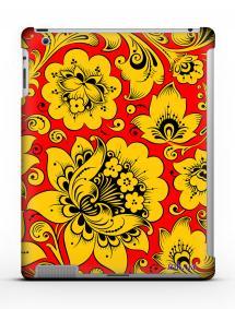 Накладка на iPad 2/3/4 - Qcase Hohloma Yellow