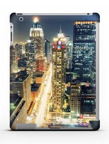 Накладка на iPad 2/3/4 - Qcase Night City