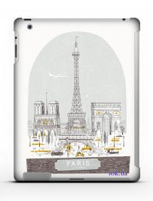 Накладка на iPad 2/3/4 - Qcase Paris