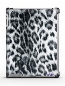 Накладка на iPad 2/3/4 - Qcase Snow Leopard