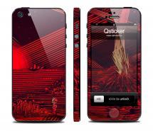 Винил Qsticker для iPhone 5 - дизайн Mars
