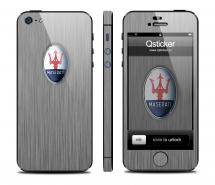 Винил Qsticker для iPhone 5 - дизайн Maserati Light