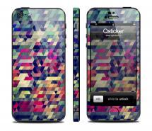 Винил Qsticker для iPhone 5 - дизайн Mazaika