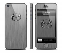 Винил Qsticker для iPhone 5 - дизайн Mazda