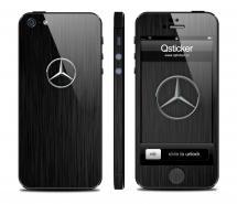 Винил на iPhone 5 - дизайн Mercedes Benz Dark