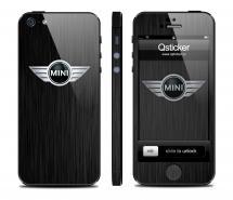 Винил на iPhone 5 - дизайн Mini Dark
