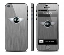 Винил на iPhone 5 - дизайн Mini Light