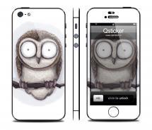 Винил на iPhone 5 - дизайн Mamaeva Owl