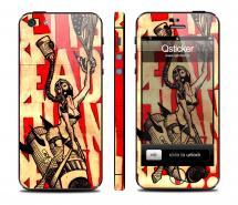 Винил на iPhone 5 - дизайн Red