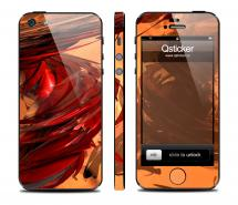 Винил на iPhone 5 - дизайн Smerch