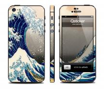Винил на iPhone 5 - дизайн Wave