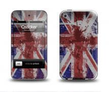 Наклейка на Apple iPod Touch 4 - Flag England