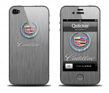 Наклейка для iPhone 4s - Cadillac