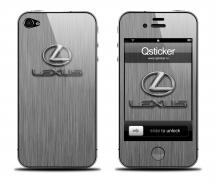 Наклейка для iPhone 4s - Lexus