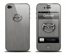 Наклейка для iPhone 4s - Mazda