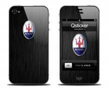 Наклейка для iPhone 4s - Maserati