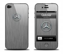 Наклейка для iPhone 4s - Mercedes