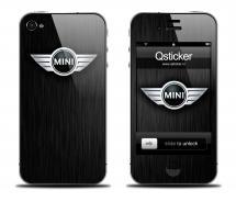 Наклейка для iPhone 4s - Mini