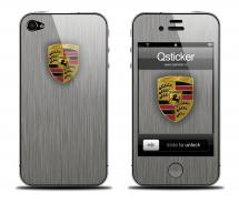 Наклейка для iPhone 4s - Porshe