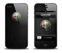 Наклейка для iPhone 4s - Alfa Romeo