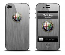 Наклейка для iPhone 4s - Alfa Romeo 2