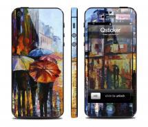 Наклейка на iPhone 5/5S - дизайн Autumn