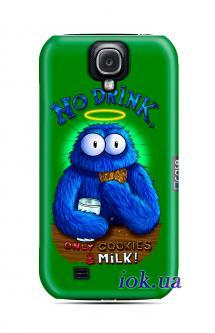 Чехол QCase на Galaxy S4 - no drink