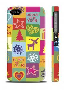 Подарочный чехол для iPhone 4/4S - Happy NY
