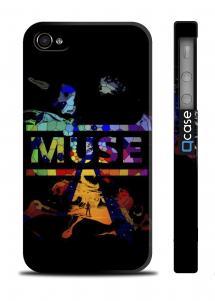 Чехол с логотипом любимой группы на iPhone 4/4S - MUSE Logo