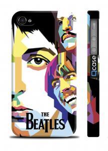 Чехол с фото Beatles для iPhone 4/4S - PopArt Beatles