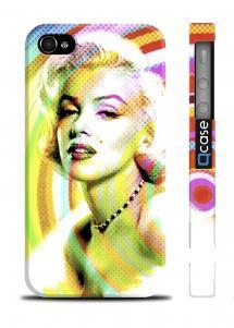 Чехол с фото  Мерилин Монро для iPhone 4/4S - PopArt M. Monroe