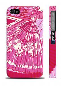 Чркий чехол для iPhone 4/4S - Bright Pink