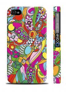 Разноцветный чехол для iPhone 4/4S - Colours