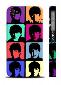 Чехол c фото Beatles для iPhone 4/4S - Beatles Art