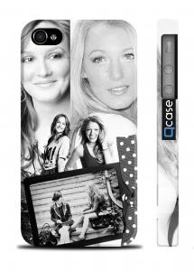 Стильный чехол для iPhone 4/4S - GG Blair and Serena
