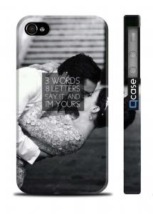 Стильный чехол для iPhone 4/4S - GG Chuck and Blair