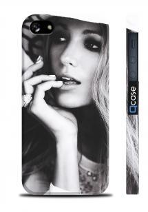 Чехол с фото актрисы для iPhone 5/5S - GG Serena
