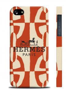 Брендовый чехол для iPhone 5/5S - Hermes