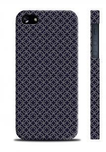 Чехол с фирменным принтом для iPhone 5/5S - Hermes pattern