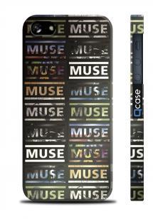 Чехол с принтом MUSE для iPhone 5/5S