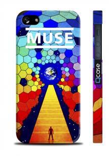 Купить чехол ярким с принтом для iPhone 5/5S - MUSE Earth
