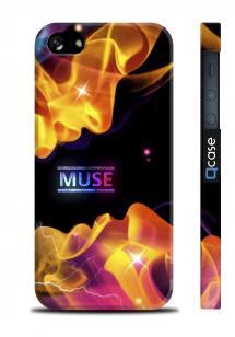 Чехол с оригинальным принтом для iPhone 5/5S - MUSE Kiss