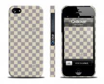 Чехол с клеточками LV для iPhone 5/5S - LV Light Squares