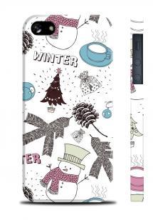 Зимний чехол для iPhone 5/5S - Winter