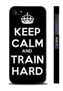 Прикольный чехол для iPhone 5/5S, Киев - Train Hard